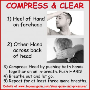 Compress and Clear for Allergies and Sinus Pain