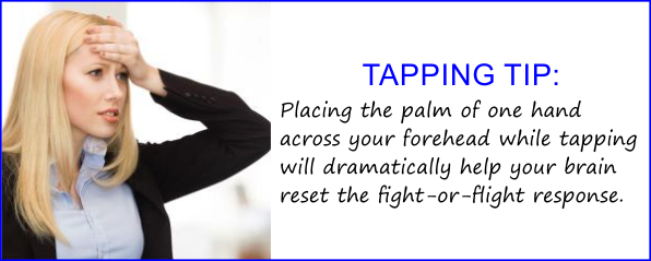 Tapping Tip - Boost Your EFT Tapping Results with the Forehead Hold